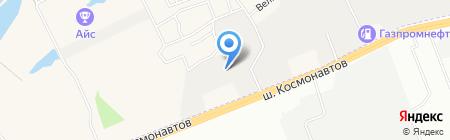 Forza на карте Перми
