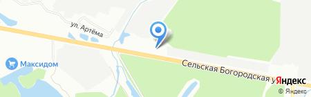 Экспресс на карте Уфы