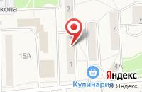 Схема проезда до компании Борисфен в Гамово