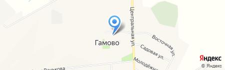 Умелец на карте Гамово