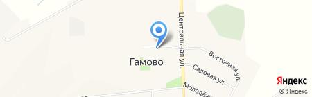 Каскад Плюс на карте Гамово