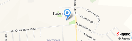 Красное & Белое на карте Гамово