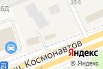 Схема проезда до компании Энджин-Авто в Перми