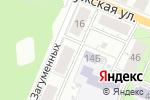 Схема проезда до компании Оксана в Перми
