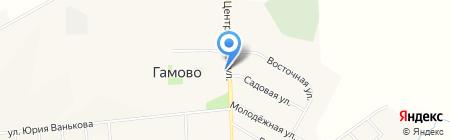 Место встречи на карте Гамово