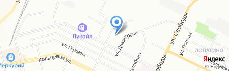 Агидель Авто на карте Уфы