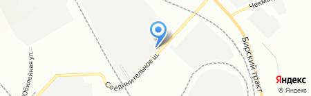 БашСтройМатериалы на карте Уфы