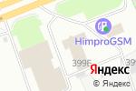 Схема проезда до компании Динамо-Профи-Плюс в Перми