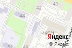 Схема проезда до компании ТИК в Перми