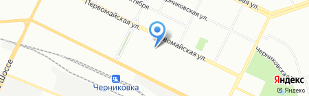 Детский сад №203 на карте Уфы