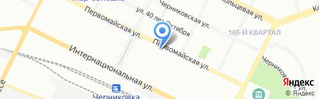 Кыштымский трикотаж на карте Уфы
