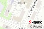 Схема проезда до компании Бюро технических экспертиз в Перми