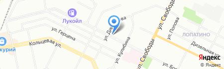 АльфаСнаб на карте Уфы