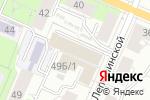 Схема проезда до компании Белые ночи в Перми
