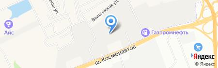 ПермСтройИнжиниринг на карте Перми
