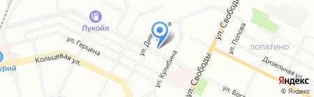 Баштрактороцентр Плюс на карте Уфы