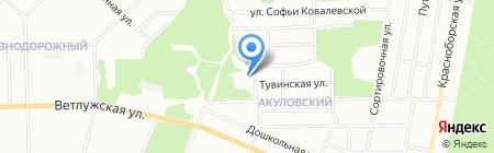 Средняя общеобразовательная школа №111 на карте Перми