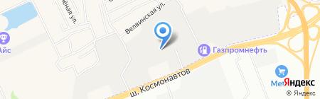Ижтехобслуживание на карте Перми