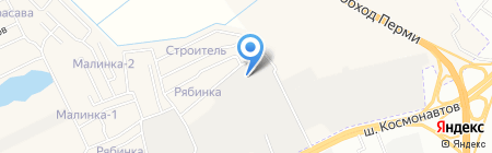 Маяк-Проф на карте Перми