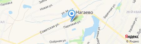 Средняя общеобразовательная школа №147 на карте Уфы