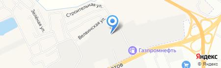 Ажур-стайл на карте Перми