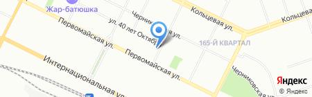 Пятерочка на карте Уфы