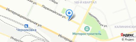Киоск по ремонту обуви на карте Уфы
