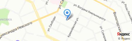 Тора+ на карте Уфы