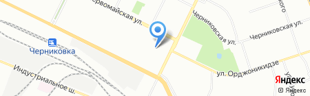 Детский сад №232 на карте Уфы