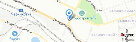Влазар на карте Уфы