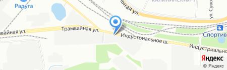 Сатор-Ротас на карте Уфы