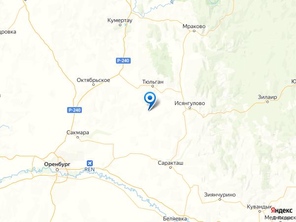 село Ключи на карте