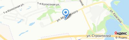 Детский сад №360 на карте Перми
