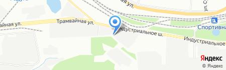Ишимбайский станкоремонтный завод на карте Уфы