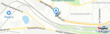 Башавтоторг на карте Уфы
