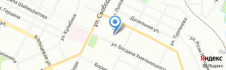 Детский сад №102 на карте Уфы