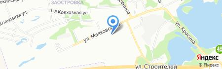 Средняя общеобразовательная школа №34 на карте Перми