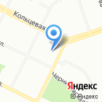 Управление Пенсионного фонда РФ в Калининском районе в г. Уфе на карте Уфы