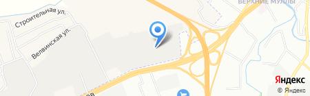 Олимп-Авто на карте Перми