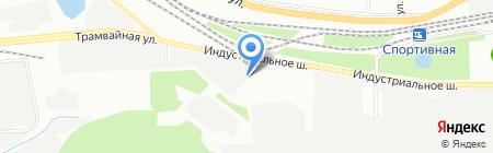 БашИзол на карте Уфы
