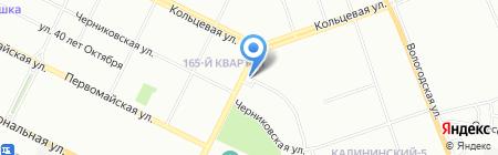 Фармэль на карте Уфы