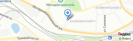 Государственная автошкола на карте Уфы