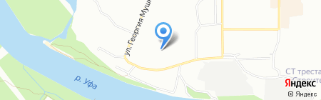 Детский сад №316 на карте Уфы