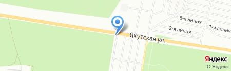 Тандем на карте Перми