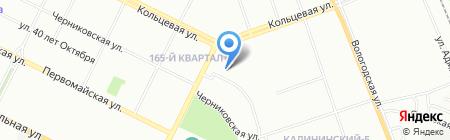 Детский сад №216 на карте Уфы