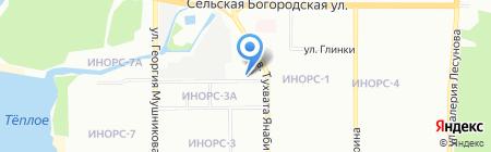 Авто-доктор на карте Уфы