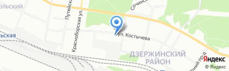 Эдера на карте Перми