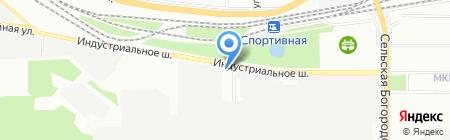 Спецдеталь на карте Уфы