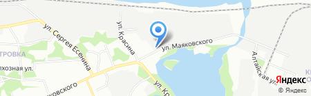 Пласт-Комплект на карте Перми