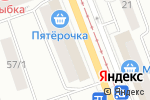 Схема проезда до компании Евротекс в Уфе